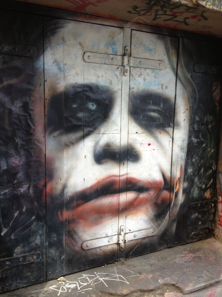 The Joker - Heath Ledger - Hosier Lane Melbourne