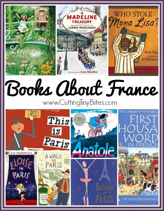 Books about France and French culture.  Books for toddlers, preschool, and elementary.  Reviews of each!