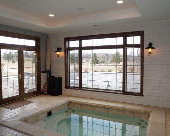 Дизайн бассейна в доме