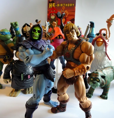 Skeletor and He-man - 30th year of a wonderful Bromance.