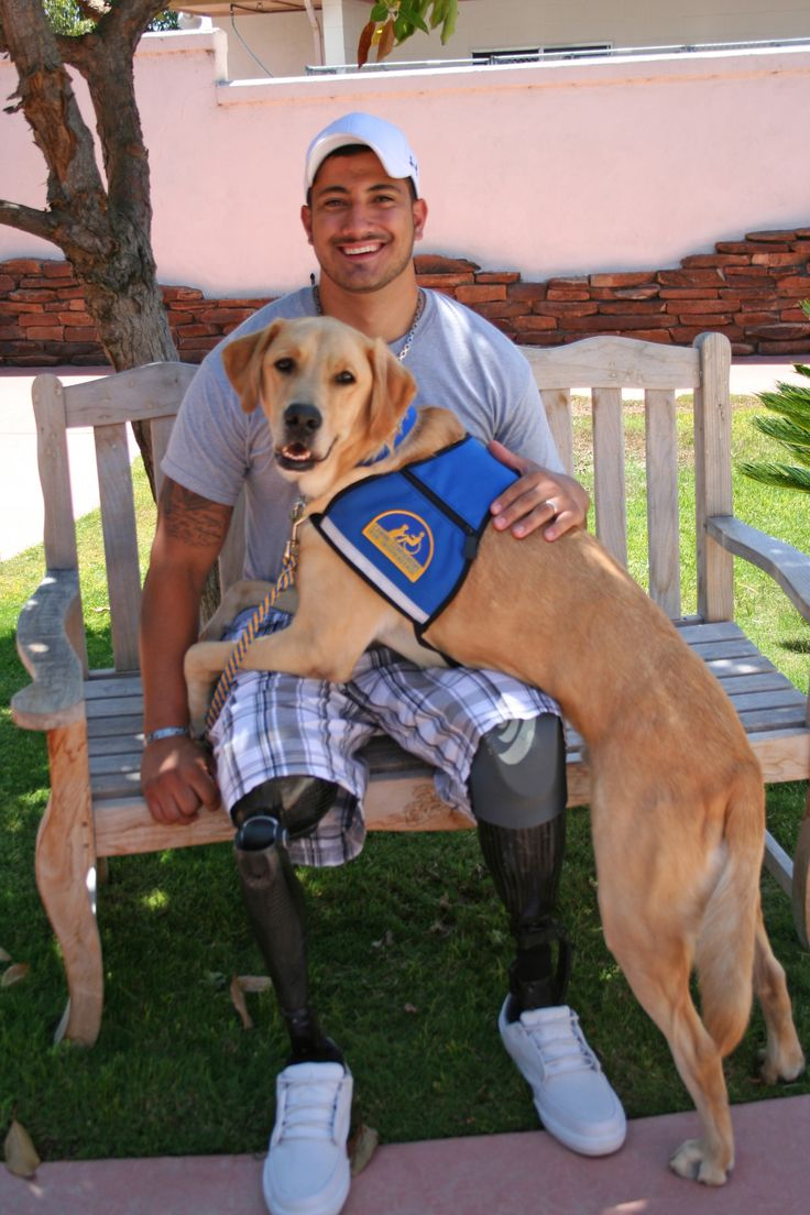 Gabe, a Corporal in the United States Marine Corps, was injured while deployed in Afghanistan. He received Service Dog Wonka from Canine Companions for Independence last year. Wonka helps Gabe by retrieving items off the ground, including his prosthetic legs when he is using a wheelchair.