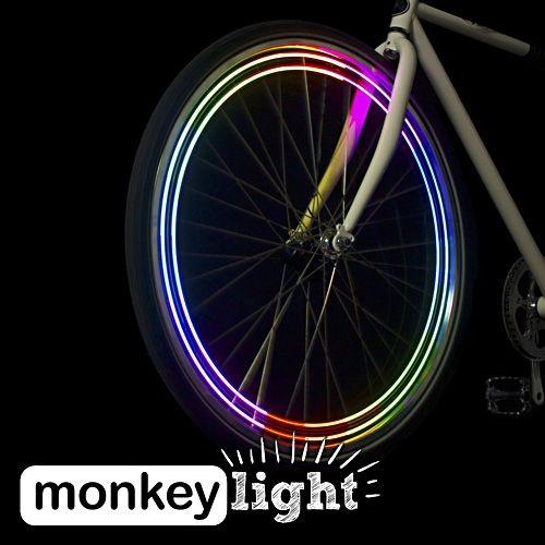 MonkeyLight M204 | Lumière vélo sur roue