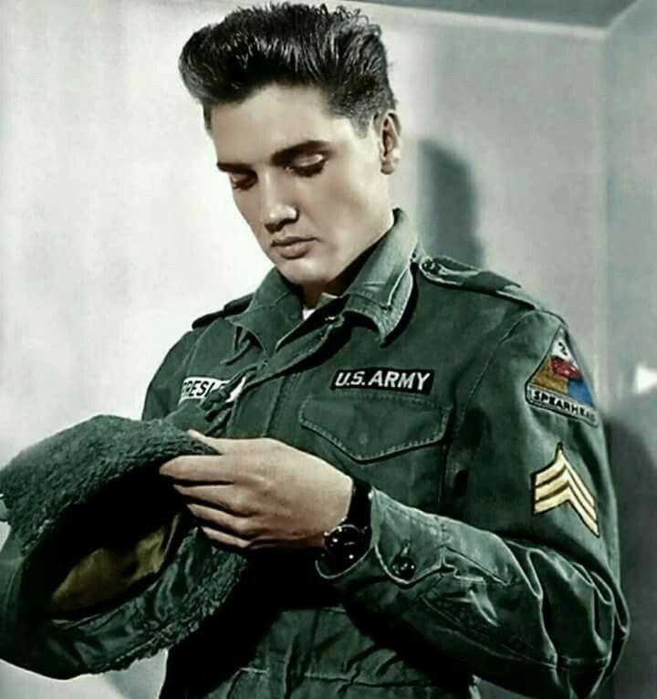Memorabilia Elvis Photo 'Army uniform' Photography Elvis Presley #Elvis
