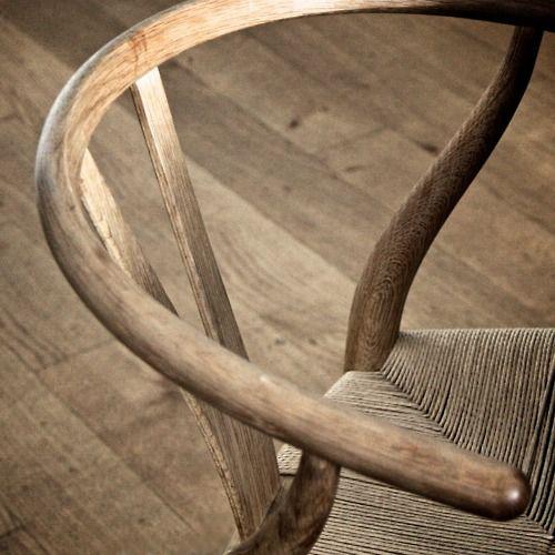 Wishbone Chair designed by Hans Wegner (1949) and manufactured in Denmark by Carl Hansen & Son