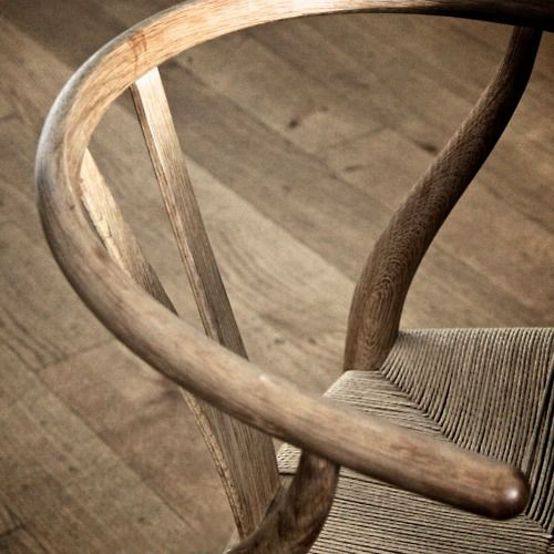 Wishbone Chair designed by Hans Wegner (1949) and manufactured in Denmark by Carl Hansen & Son