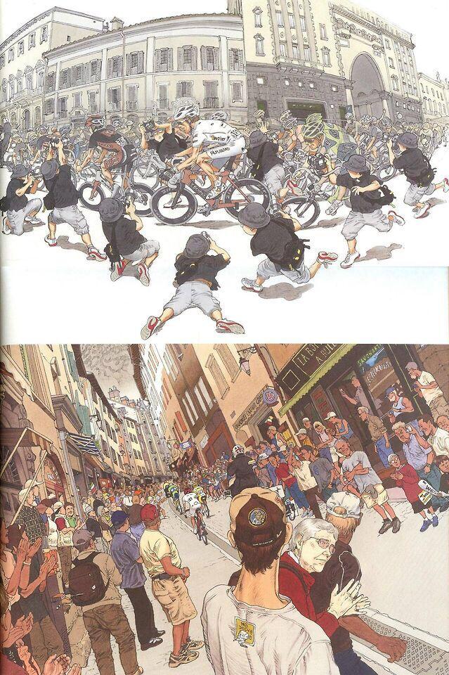 Cycling art by Otomo Katsuhiro (akira creator