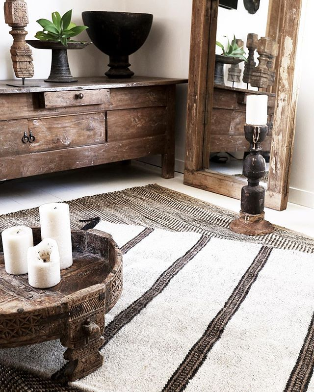 Amazing neutral colour palette natural materials and