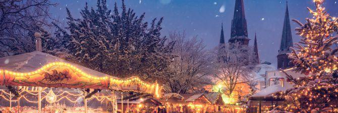 Mysiga julmarknader att besöka i Sverige.