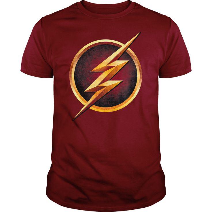THE FLASH CHEST LOGO T Shirt, Hoodie, Sweatshirt