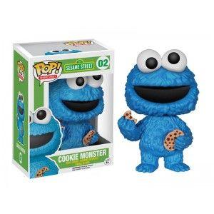 Figurine Sesame Street - Cookie Monster Pop 10cm