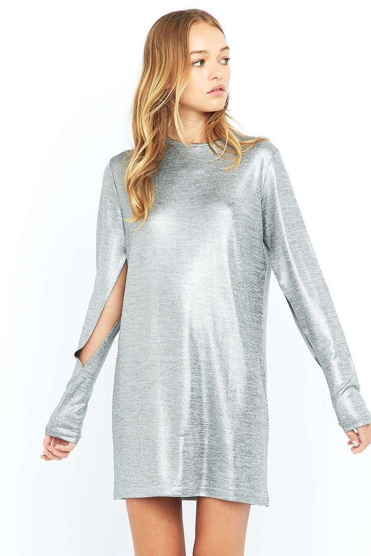 Cheap Monday Sound Silver Dress