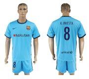 Barcelona FC 17-18 Away soccer kits 19