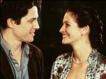 """Don't forget I'm just a girl, standing in front of a boy, asking him to love her.""—《Notting Hill》"