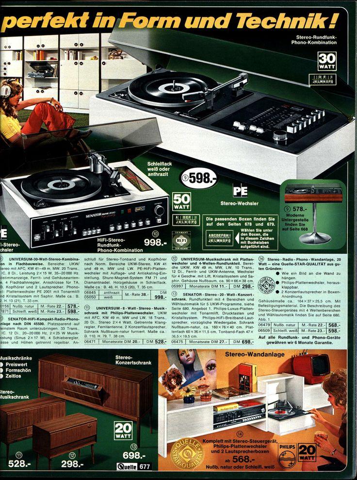 all sizes 1972 quelle 677 hifi flickr photo sharing quelle katalog pinterest katalog. Black Bedroom Furniture Sets. Home Design Ideas
