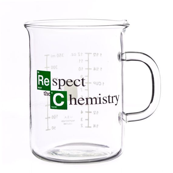 Hey, I found this really awesome Etsy listing at https://www.etsy.com/listing/157090858/beaker-mug-respect-the-chemistry