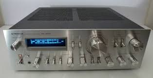 Pioneer SA-9800  Like the SA-9900, the  Pioneer SA-9800 is an integrated amplifier. It also has a non-switching amplifier function that helps keep the total harmonic distortion (THD) low at 0.05 percent for great audio performance. It was another top-of-the-line piece of equipment in its time, and in some ways, it is the successor to the SA-9900. The SA-9800 delivers 100 watts of power per channel into 8 Ohms, with a frequency response of 5 Hz to 100 kHz. It is smaller than its predecessor…