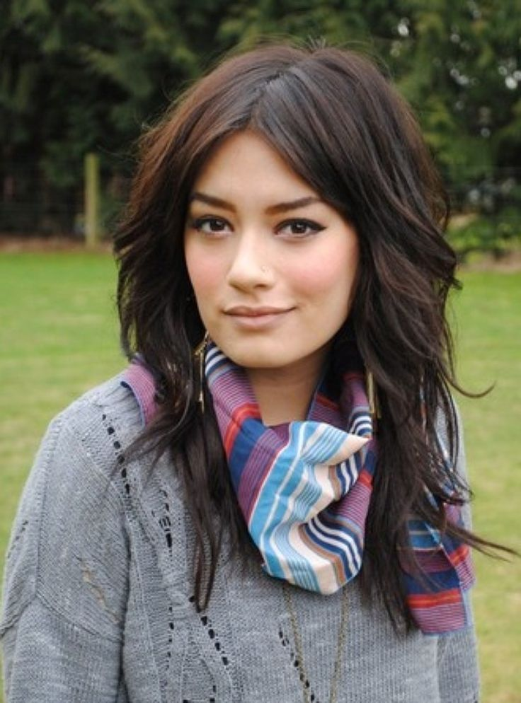 @laain I want me hair like this  lots of layers, thinned out...? It's crazy thick and gross right now :/