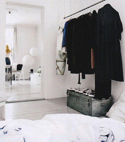 white, white, white...and black clothes