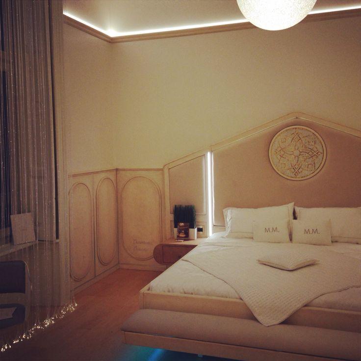 New Luxury Hotel Sevenstars Duomo Green Suite Marchigenio Designed by Massimiliano Mandarini