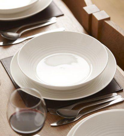 ROYAL DOULTON Gordon Ramsay Maze Pasta Bowl, White: Amazon.co.uk: Kitchen & Home