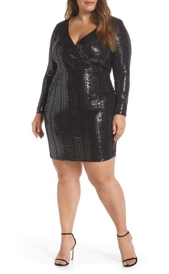 44c16d8317 Leith Sequin Sheath Dress - Plus Size