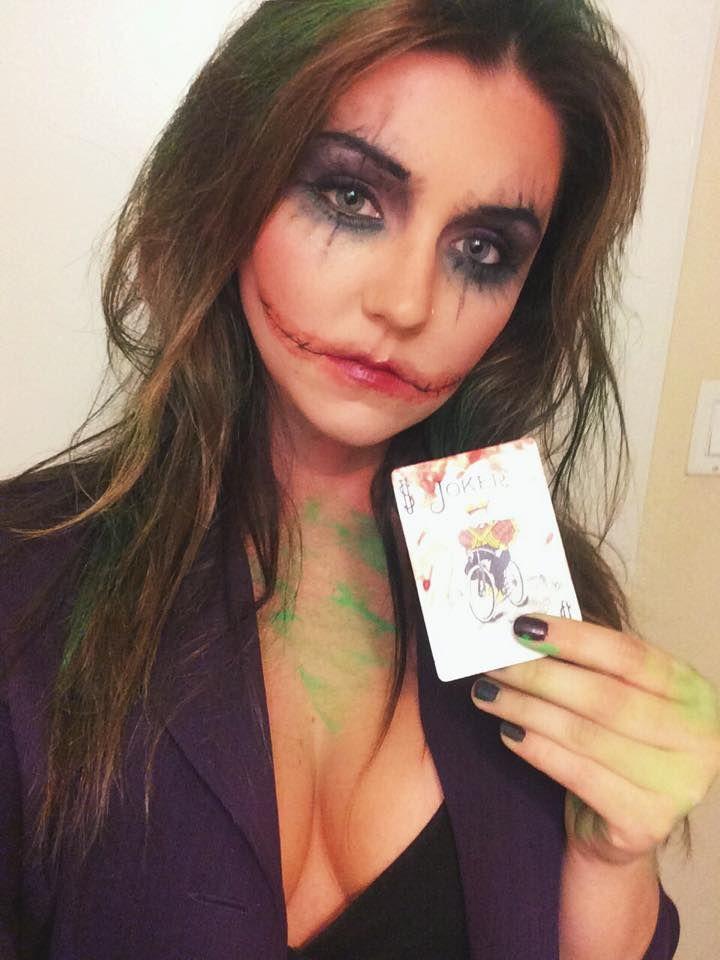 Female Joker makeup inspiration