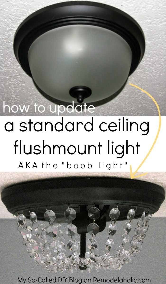Ceiling Lights That Dont Require Wiring : Ideas about ceiling light diy on led