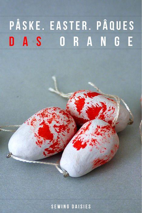 Påske.  Pasen.  Pâques - DAS Oranje