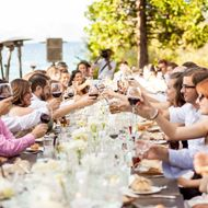 A BBQ Rehearsal DinnerHost a relaxed outdoor dinner with all of your cookout favorites on ...