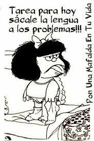 Resultado de imagen para mafalda enojada