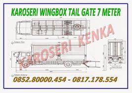 PEMBUAT TRUCK WINGBOX TAIL GATE SYSTEM