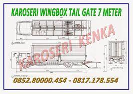 PEMBUAT TRUCK WINGBOX TAIL GATE SYSTEM