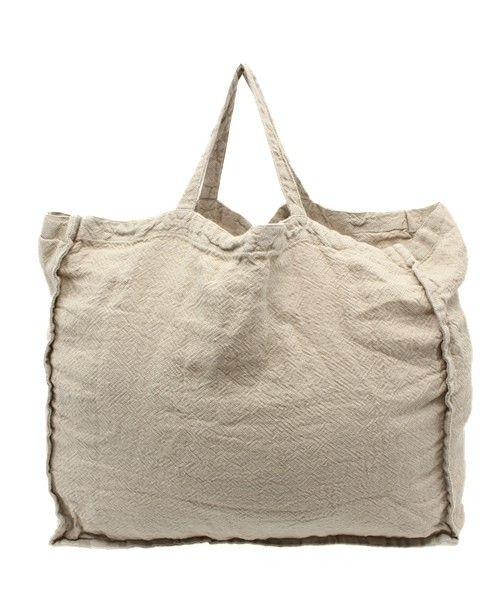 JOURNAL STANDARD LUXE,【LINGE PARTICULIER】 Heavy Linen TOTE(big) Find looks using this item.