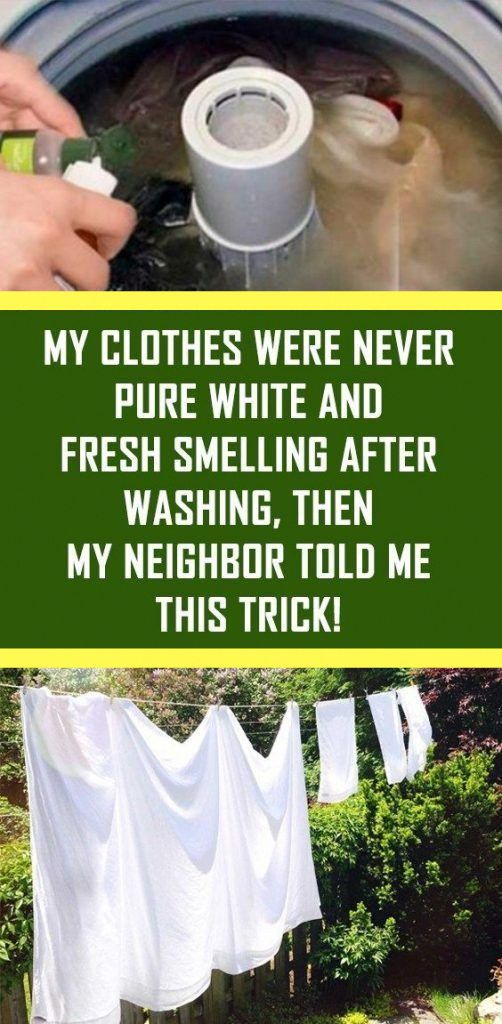 Keeping clothes whitened after every laundry is a …