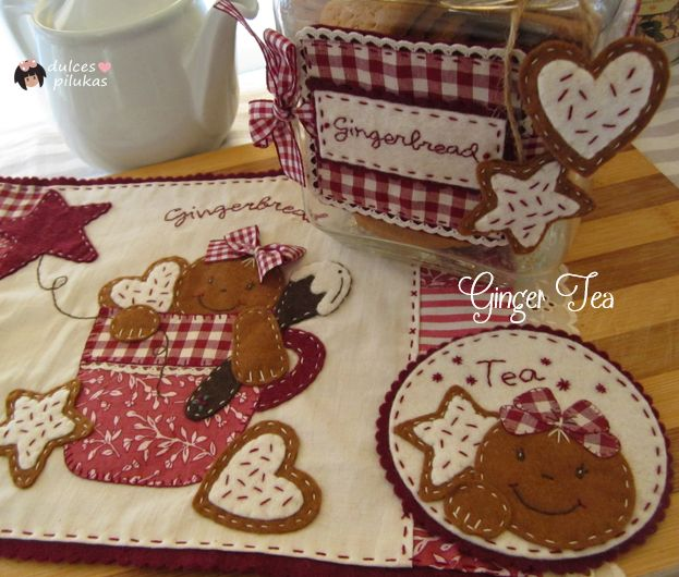dulces pilukas: Ginger Tea