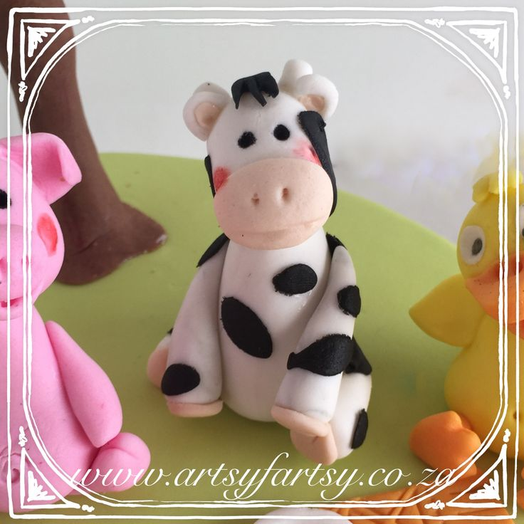 Cow Sugar Figurine #cowsugarfigurine