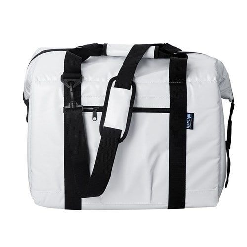 NorChill BoatBag 48 Can Marine Cooler Bag - White Tarpaulin BoatBag 48 Can Marine Cooler Bag - White Tarpaulin