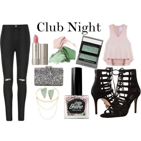 Hip Hop is perfect to pair with your clubbing attire. Try simple clothes with glitter accents! #ootd
