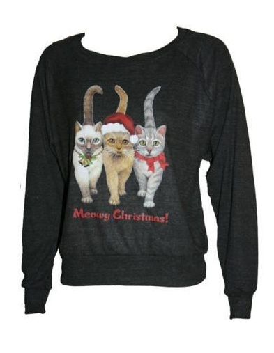 10 Ridiculously Ugly Christmas Sweaters // AH. I wish I had this for an ugly Christmas sweater party!