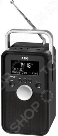 AEG DR 4149 DAB+  — 5230 руб. —  Радиоприёмник AEG DR 4149 DAB компактное переносное устройство, которое отлично пригодится в походных условиях или отдыхе за городом. Оснащено черно-белым дисплеем, модулями DAB для приема радиостанций в цифровом формате. Есть возможность сканирования ручным или автоматическим способом. Пользователь может отрегулировать уровень звука, перевести приемник в режим сна. Наличие телескопической антенны, встроенные колонки, возможность работы от сети или от…