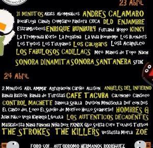 Posible Cartel para el Vive Latino 2016.