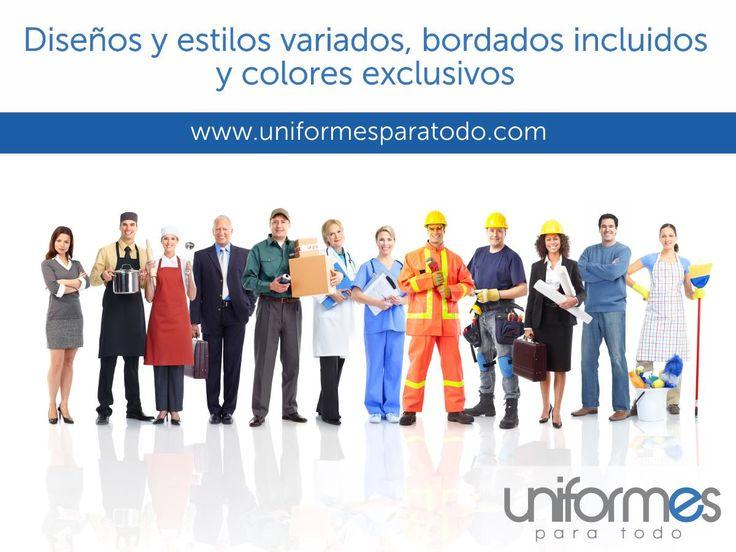 ¡Todo lo que buscabas! #UniformesparaTodo #Empresas #Colombia #Uniformes #Dotacion www.uniformesparatodo.com
