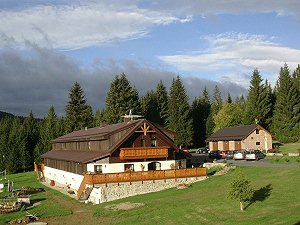 horská chata Šumava