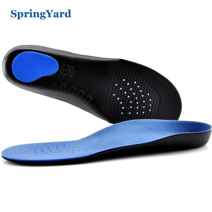 SpringYard EVA Adult Flat Foot Arch Support Orthotics Orthopedic Insoles for Men Women