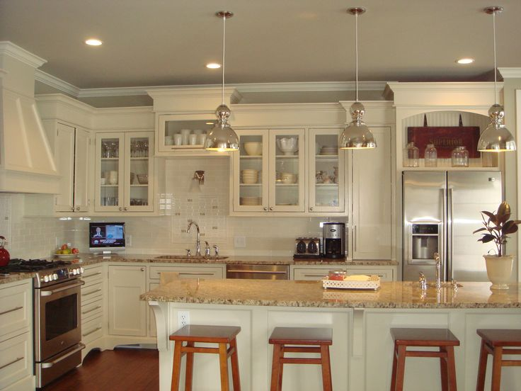 Want To Repaint The Cabinets White Cream Upgrade To