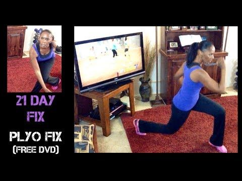 21 Day Fix Review 2- PLYO FIX (Free DVD) - YouTube