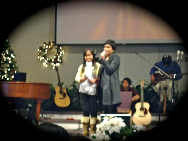 Ete & Thania worshipping GOD