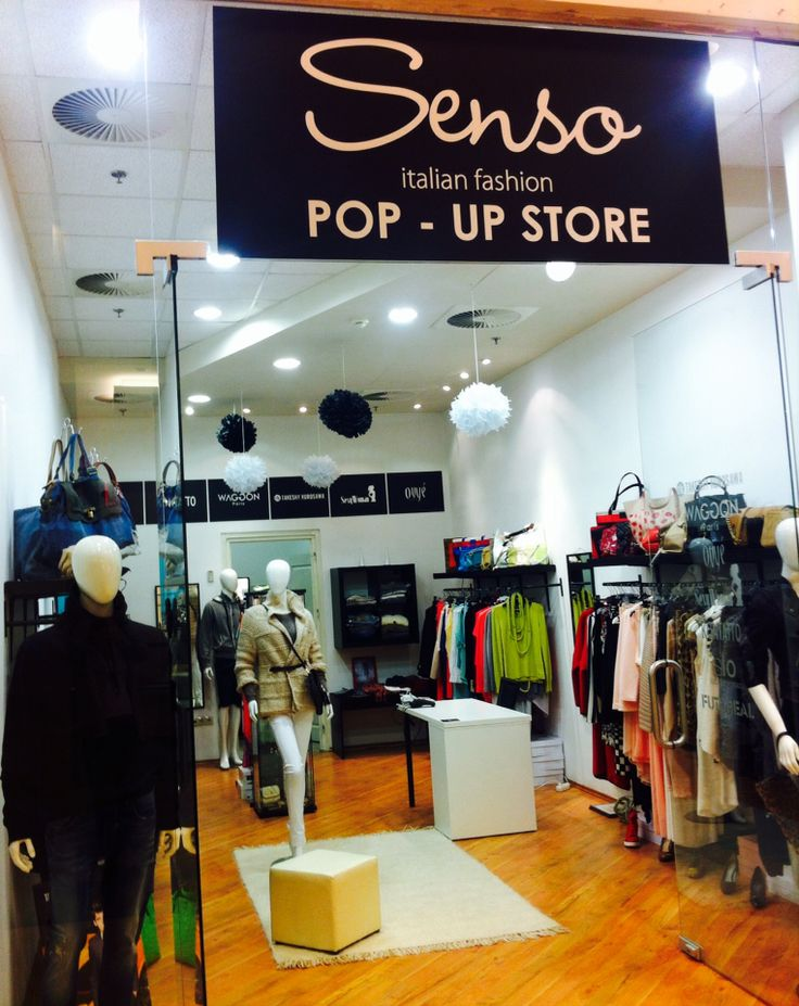 New Pop-Up Store