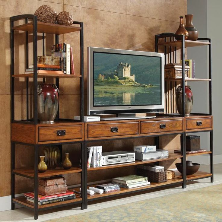 Modern Craftsman Entertainment Center