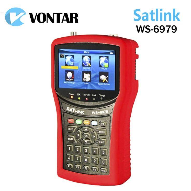 >> Click to Buy << [Genuine] Satlink WS6979 DVB-S2 & DVB-T2 Combo 6979 digital satellite finder meter Spectrum analyzer constellation free shipping #Affiliate